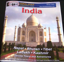HimalayanTours' Brochure, click to order one